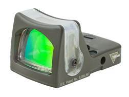 Trijicon RMR Reflex Red Dot Sight Dual-Illuminated 12.9 MOA Amber Triangle Cerakote Olive Drab Green