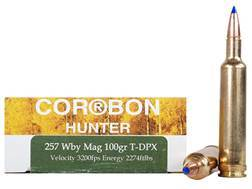 Cor-Bon DPX Hunter Ammunition 257 Weatherby Magnum 100 Grain Tipped DPX Lead-Free Box of 20