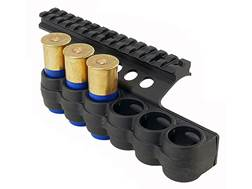 "Mesa Tactical Sureshell Shotshell Ammunition Carrier with 5-1/2"" Picatinny Optic Rail 12 Gauge Be..."