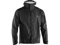 Under Armour Men's UA Stormfront Waterproof Jacket Polyester Black 2XL 50-52