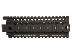 Daniel Defense Lite Rail II 7.0 Free Float Tube Handguard Quad Rail AR-15 Carbine Length Aluminum Black