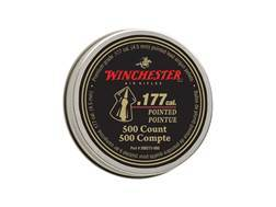 Winchester Airgun Pellets 177 Caliber 9.7 Grain Pointed Pellets Tin of 500