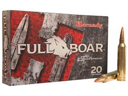 Hornady Full Boar Ammunition 7mm Remington Magnum 139 Grain GMX Boat Tail Lead Free Box of 20