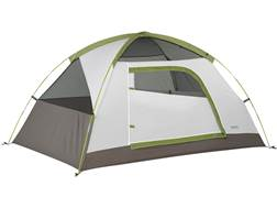 "Kelty Yellowstone 2 2 Man Dome Tent 83"" x 52"" x 44"" Polyester White and Lime Green"