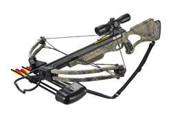 Velocity Archery Lionheart Crossbow Package with 4x 32mm Illuminated Crossbow Scope Realtree Xtra Camo