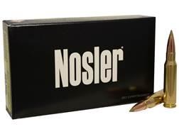 Nosler E-Tip Ammunition 308 Winchester 150 Grain E-Tip Lead-Free Box of 20