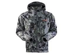 Sitka Men's Stratus Jacket Polyester Gore Optifade Elevated Forest Camo Small 36-38