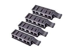 Crosman Firepow'r Kit Four pack of 5 Shot Clips for Crosman Model M4-177, 760, 764, 781, and 66 Polymer Black