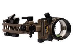 "Apex Gear AG Axim 6 Light 6-Pin Bow Sight .019"" Diameter Pin Ambidextrous Aluminum Brown"