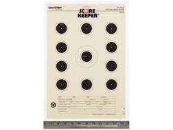 "Champion Score Keeper 50 Ft Air Gun Small Bore Targets 11"" x 16"" Paper Orange Bull Package of 12"