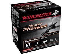 "Winchester Super-X Pheasant Ammunition 12 Gauge 3"" 1-5/8 oz #4 Shot"