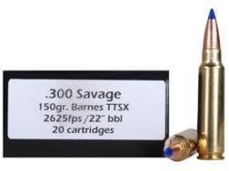 Doubletap Ammunition 300 Savage 150 Grain Barnes Tipped Triple-Shock X Bullet Lead-Free Box of 20
