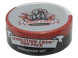 Knight & Hale Demolition Crew Pro Pack Diaphragm Turkey Call 3 Pack