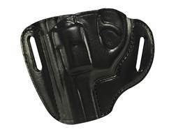 Bianchi 57 Remedy Outside the Waistband Holster Left Hand Ruger LCR Leather Black