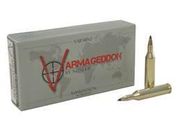 Nosler Varmageddon Ammunition 17 Remington 20 Grain Tipped Flat Base Box of 20