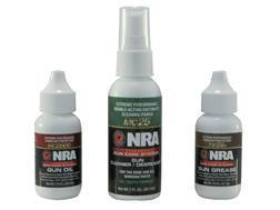 NRA Licensed Gun Care System By Mil-Comm Three Piece Gun Care Kit