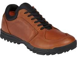 5.11 Pursuit Lace Up Tactical Shoes Leather Dark Brown Men's