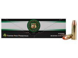 Copper Only Projectiles (C.O.P.) Ammunition 500 S&W Magnum 275 Grain Solid Copper Hollow Point Lead-Free Box of 20