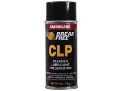 Break-Free CLP (Bore Cleaning Solvent, Lubricant, Rust Preventative) 4 oz Aerosol