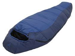 ALPS Mountaineering Blue Springs 35 Degree Long Mummy Sleeping Bag Polyester Blue and Navy