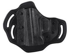 DeSantis Intimidator Belt Holster Left Hand Springfield XD9, XD40, XDM Kydex and Leather Black