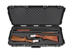 "SKB iSeries 3614 Custom Breakdown Double Shotgun Case with Wheels 36-1/2"" Polymer Black"
