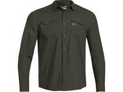 Under Armour Men's Shop Shirt Long Sleeve Cotton