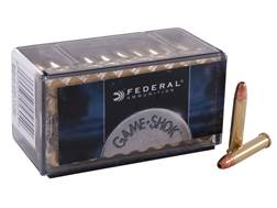 Federal Game-Shok Ammunition 22 Winchester Magnum Rimfire (WMR) 50 Grain Jacketed Hollow Point Box of 500 (10 Boxes of 50)