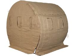 Muddy The Bale Blind Ground Blind Steel and Fabric