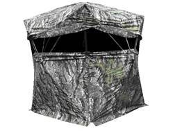 "Primos Blind Luck Ground Blind 58"" x 58"" x 77"" Polyester Ground Swat Grey Camo"