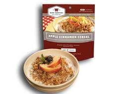 Wise Food Outdoor Apple Cinammon Cereal Freeze Dried Food 5 oz