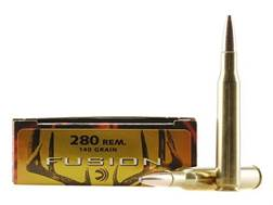 Federal Fusion Ammunition 280 Remington 140 Grain Spitzer Boat Tail Box of 20