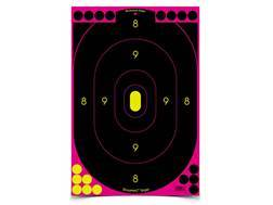 "Birchwood Casey Shoot-N-C Pink Targets 12"" x 18"" Silhouette Package of 12"