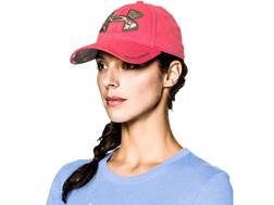 Under Armour Women's Caliber Cap Polyester Perfection Pink and Realtree Xtra