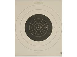 NRA Official High Power Rifle Targets MR-52 200 Yard Slow Fire Paper Package of 100