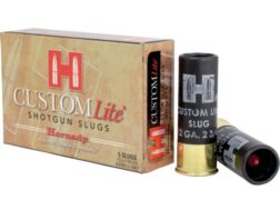 "Hornady Custom Lite Ammunition 12 Gauge 2-3/4"" 300 Grain Flex Tip eXpanding Sabot Slug Box of 5"