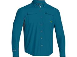 Under Armour Men's ISO-Chill Flats Guide Long Sleeve Shirt Nylon