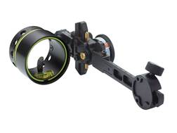 "HHA Sports Optimizer Lite King Pin Tournament XL5519 1-Pin Bow Sight with Rheostat Scope .019"" Pin Diameter Right Hand Black"
