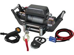 Champion 10000 lb Winch Kit with 85' Galvanized Super Duty Cable