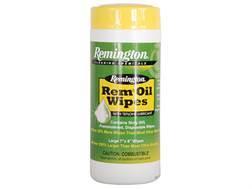 Remington Rem Oil Gun Oil Pop-up Wipes 60 Count Container