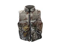 Gamehide Men's Deer Camp Reversible Waterproof Insulated Vest Polyester Blend Blaze Orange / Realtree AP Camo