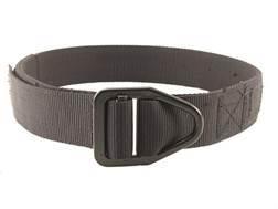"Uncle Mike's Reinforced Instructor Belt 1-1/2"" Black Steel Buckle Polymer Reinforced Nylon"