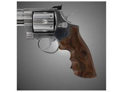 Hogue Fancy Hardwood Grips with Finger Grooves Taurus Medium and Large Frame Revolvers Square Butt Pau Ferro