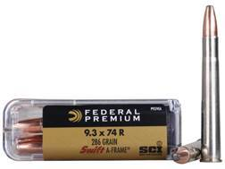 Federal Premium Cape-Shok Ammunition 9.3x74mm Rimmed 286 Grain Swift A-Frame Box of 20