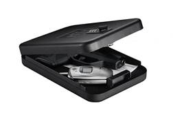 "GunVault NanoVault 300 Pistol Safe 1-3/4"" x 6-1/2"" x 9-1/2"" Black"