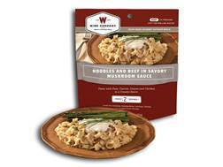 Wise Food Savory Stroganoff with Sour Cream and Mushrooms Freeze Dried Meal 5 oz.