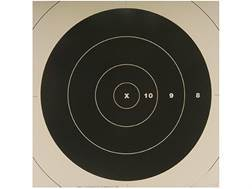 NRA Official High Power Rifle Targets Repair Center SR-42C 200 Yard Rapid Fire Paper Pack of 100