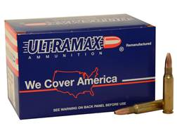 Ultramax Remanufactured Ammunition 308 Winchester 168 Grain Hollow Point Box of 60