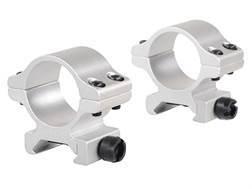 "Millett 1"" Angle-Loc Detachable Rings Weaver-Style Silver High"