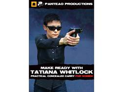 "Panteao ""Make Ready with Tatiana Whitlock: Practical Concealed Carry for Women"" DVD"